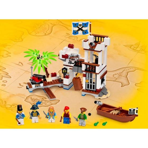 Военный форт, 70412 лего пираты