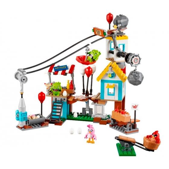 75824 Разгром Свинограда Lego Angry Birds