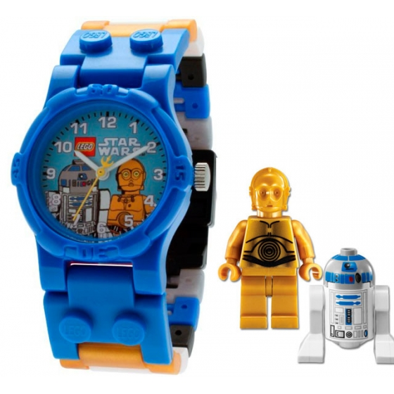 "Часы наручные Lego Star Wars ""R2D2 and C-3PO"" 9002915"