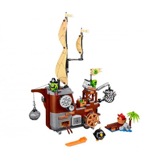 75825 Пиратский корабль свинок Lego Angry Birds