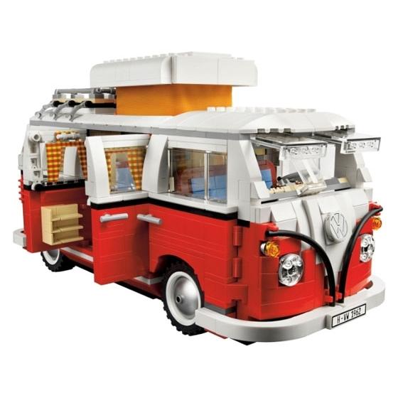 Автофургон Volkswagen T1, 10220 lego exclusive