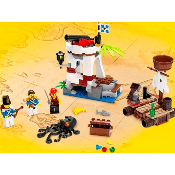 Военный форпост, 70410 лего пираты