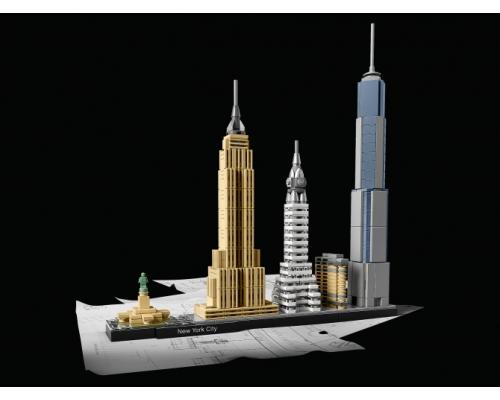 21028 Нью-Йорк Lego Architecture