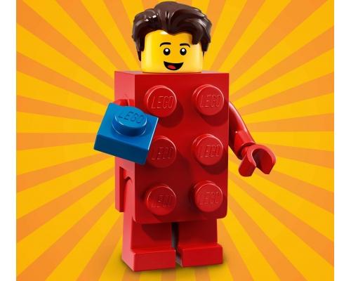 71021 Парень в красном кубике Lego Minifigures Юбилейная Серия