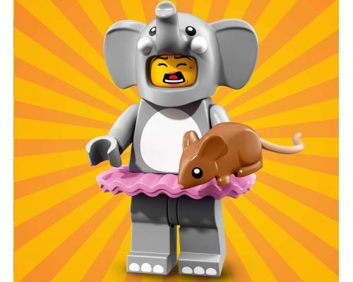 71021 Аниматор в костюме слона Lego Minifigures Юбилейная Серия