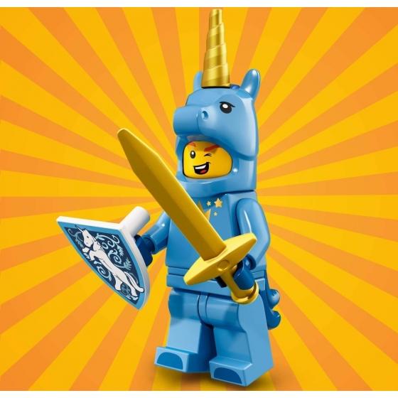 71021 Парень в костюме единорога Lego Minifigures Юбилейная Серия