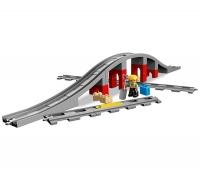 10872 Железнодорожный мост и рельсы Lego Duplo