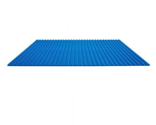 10714 Строительная пластина синего цвета lego classic