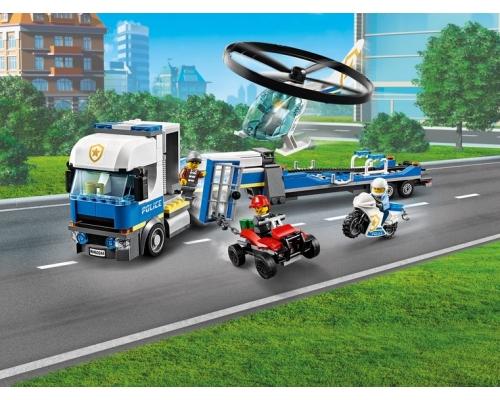 60244 Полицейский вертолётный транспорт Lego City