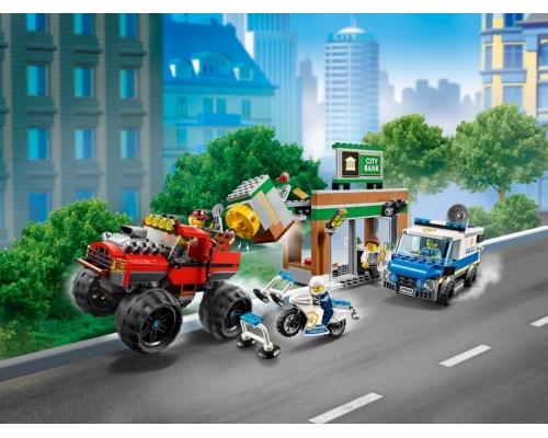 60245 Ограбление полицейского монстр-трака Lego City