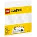 11010 Белая базовая пластина Lego Classic