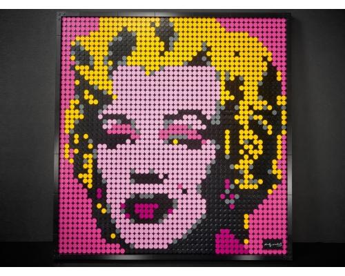 31197 Lego Art Мэрилин Монро Энди Уорхола