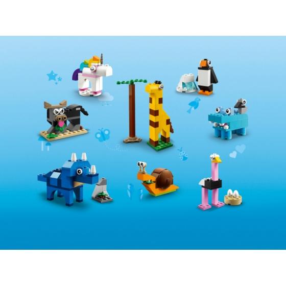 Купить 11011 Lego Кубики и зверюшки Classic
