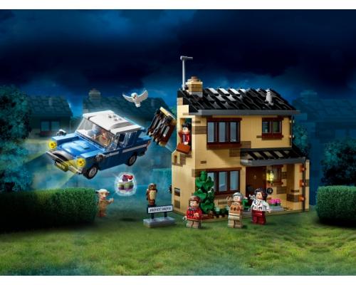 75968 Lego Harry Potter Тисовая улица, дом 4