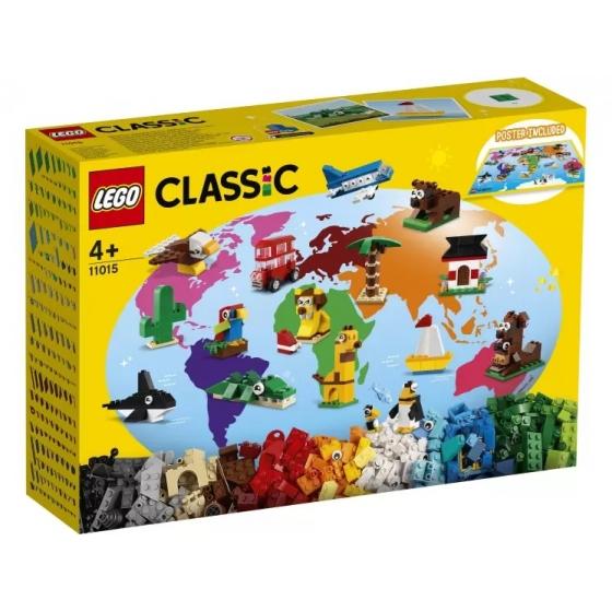 Конструктор LEGO Classic 11015 Вокруг света