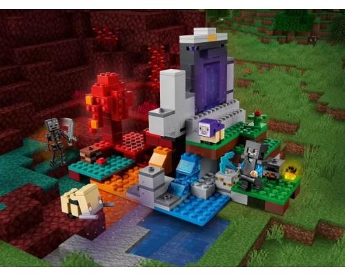 LEGO Minecraft 21172 Разрушенный портал