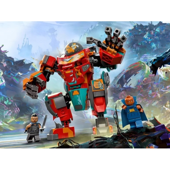 LEGO Super Heroes 76194 Железный Человек Тони Старка на Сакааре
