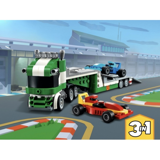 Конструктор LEGO Creator 31113 Транспортировщик гоночных автомобилей