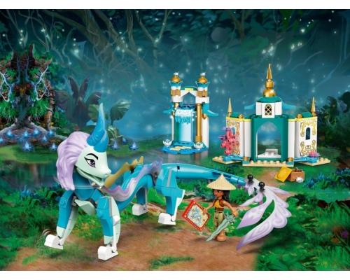 LEGO Disney 43184 Райя и дракон Сису