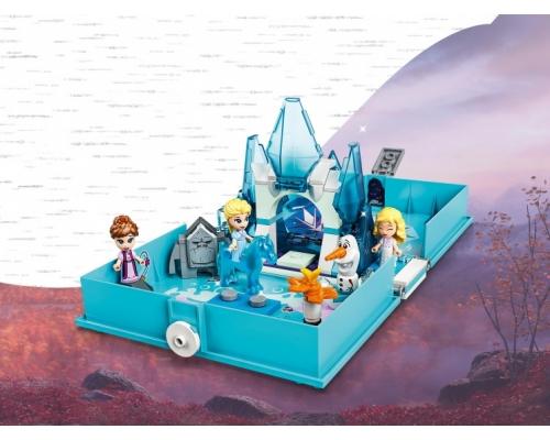 LEGO Disney 43189 Книга сказочных приключений Эльзы и Нока