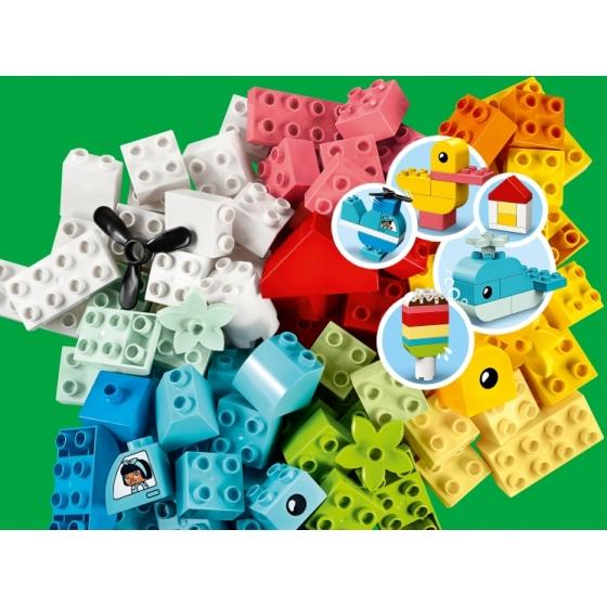 Конструктор LEGO Duplo 10909 Шкатулка-сердечко
