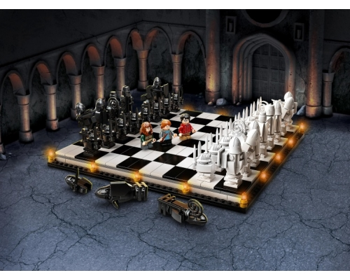 LEGO Harry Potter 76392 Хогвартс: волшебные шахматы