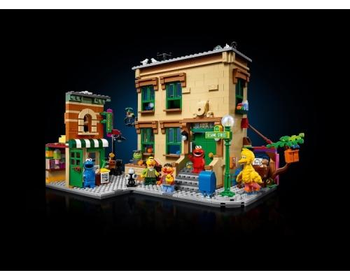 LEGO Ideas 21324 Улица Сезам, 123