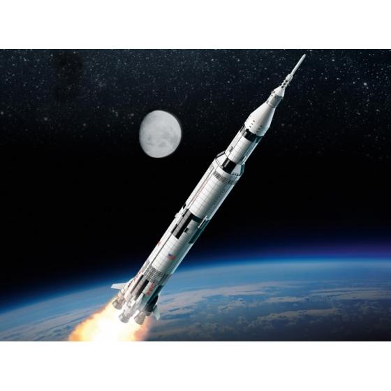 Конструктор LEGO Ideas 92176 Ракетно-космическая система НАСА «Сатурн-5-Аполлон»