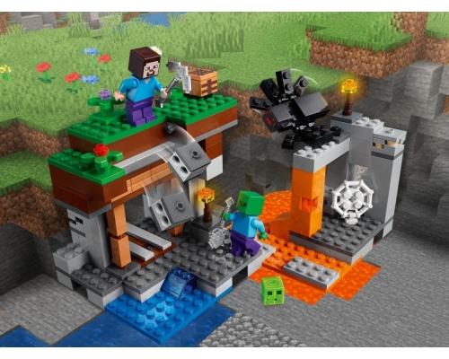 LEGO Minecraft 21166 «Заброшенная» шахта