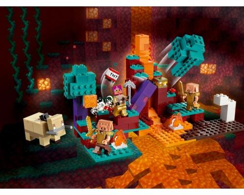 LEGO Minecraft 21168 Искажённый лес