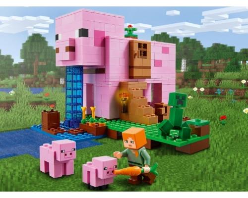 LEGO Minecraft 21170 Дом-свинья