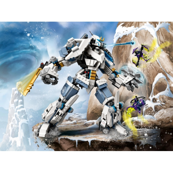 LEGO Ninjago 71738 Битва с роботом Зейна