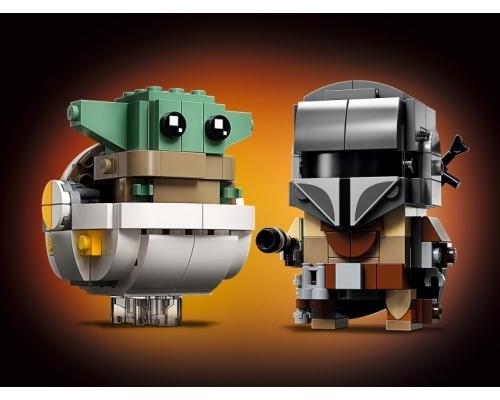 LEGO BrickHeadz 75317 Мандалорец и малыш