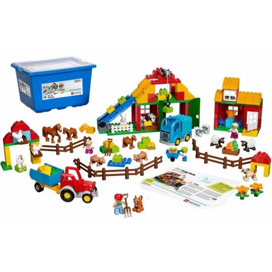 45007 Большая ферма Duplo Lego Education