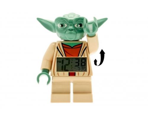 Часы-будильник Йода LEGO STAR WARS 9003080