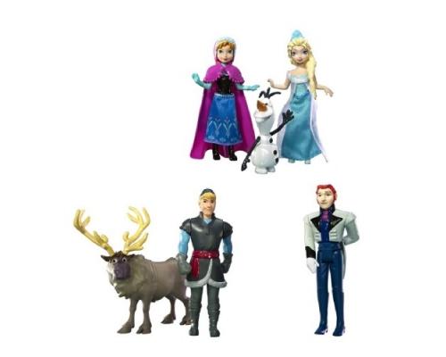 "Набор мини-кукол ""Холодное Сердце"" - Персонажи мультфильма, Y9980 Matell"