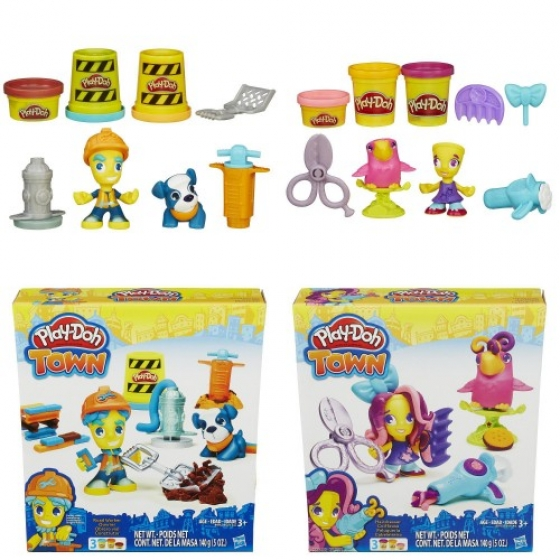 Житель и питомец, B3411 Play-Doh Hasbro