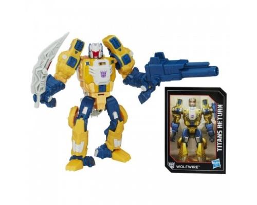 "Набор ""Titans Return"" - Монзо и Вулфвайр, b7762 Hasbro"