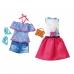 Кукла Barbie Модница с набором одежды, DTD96-DTF06 Barbie Mattel